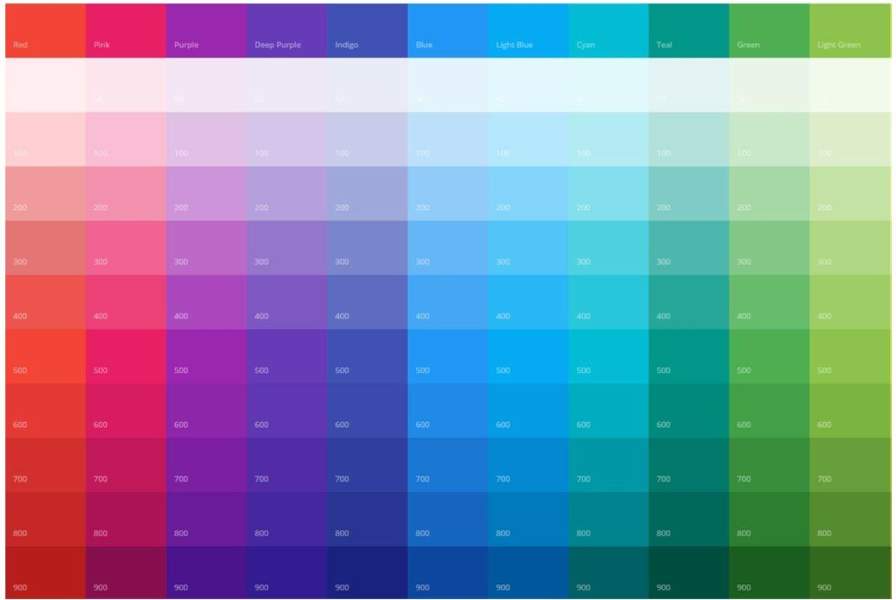Mejores colores para su sitio web
