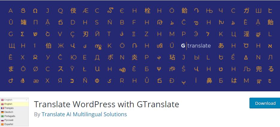 Traduce WordPress con GTranslate