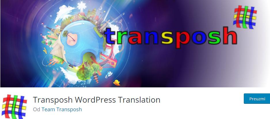 Plugin WordPress Transposh