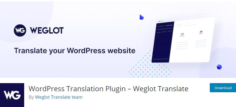 Plugin Weglot WordPress
