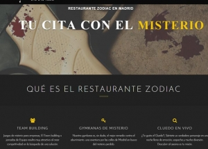 Restaurante Zodiac Madrid